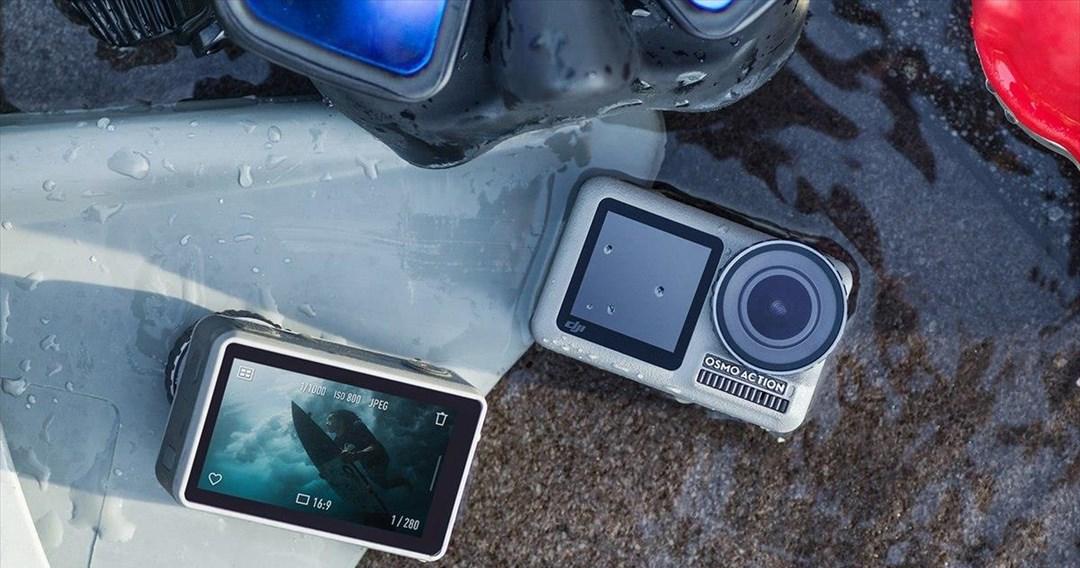 Η DJI Osmo action camera θέλει να τα βάλει με την GoPro
