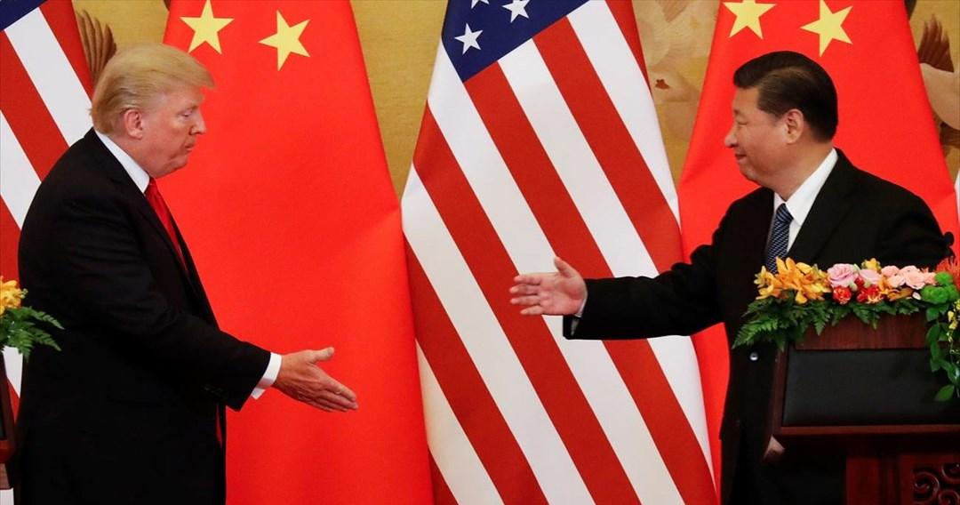 Τραμπ: Η Κίνα αποφασισμένη για εμπορική συμφωνία