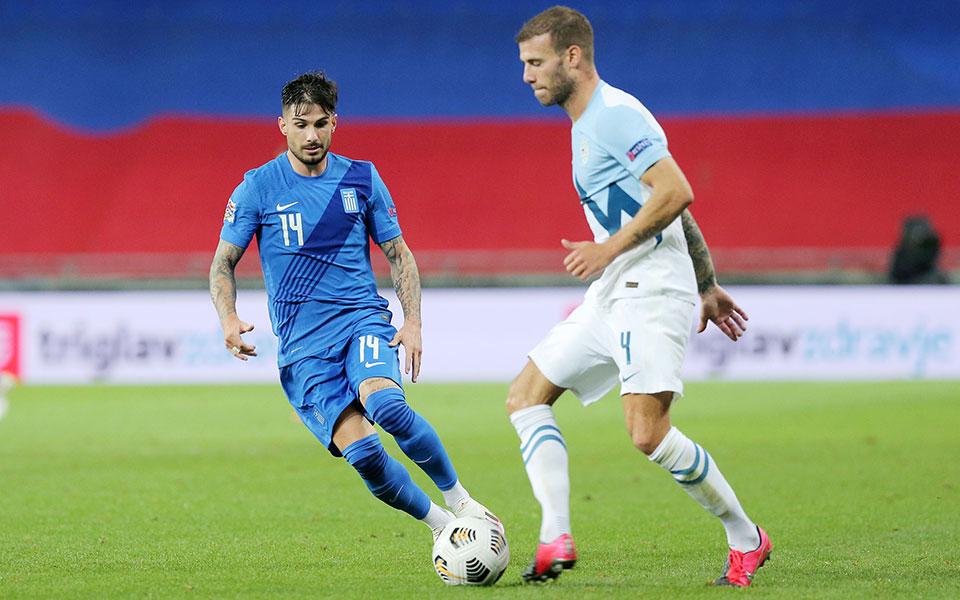 Στο 0-0 έμεινε η Εθνική κόντρα στη Σλοβενία