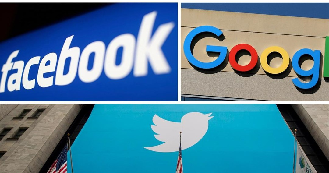 Facebook, Google, Twitter εκ νέου ενώπιον του Κογκρέσου