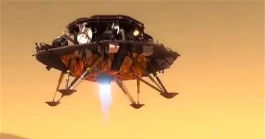 Η Κίνα πάτησε και στον Άρη