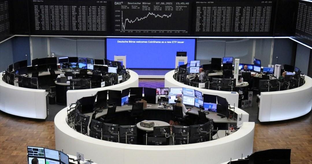 Ανοδικά κινούνται οι ευρωαγορές