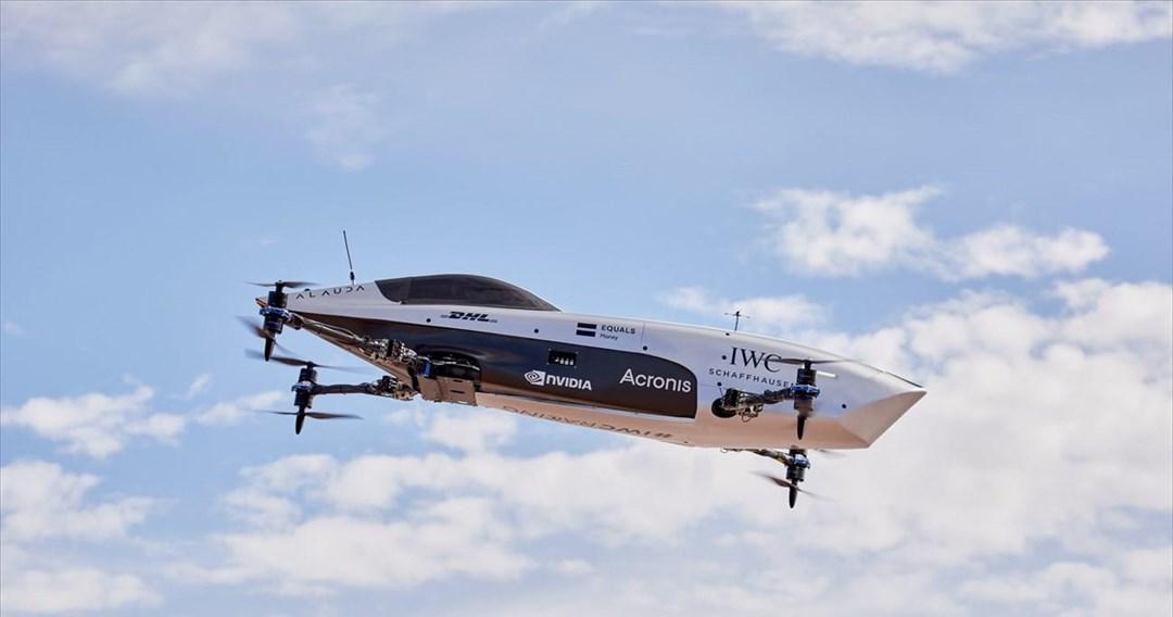 Πέταξε το drone της Formula 1 των αιθέρων