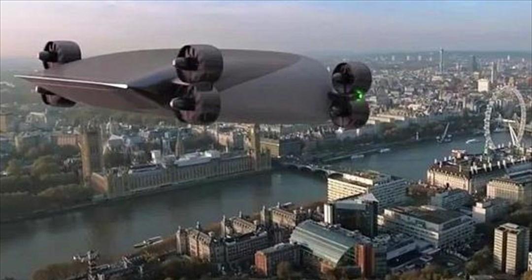 To πρώτο drone λεωφορείο