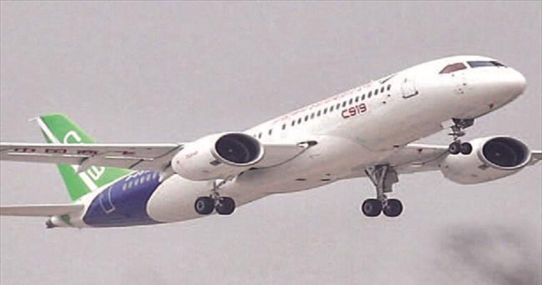 Το κινεζικό επιβατηγό αεροσκάφος- πρόκληση σε Boeing και Airbus