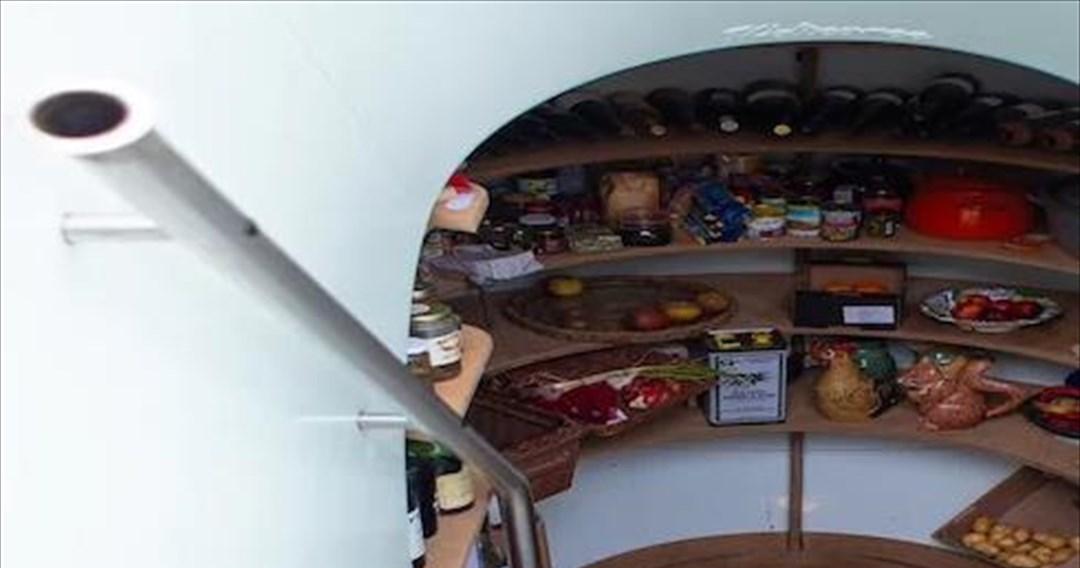 Ένα ψυγείο-καταφύγιο για ασφαλή και αυτόνομη συντήρηση τροφίμων