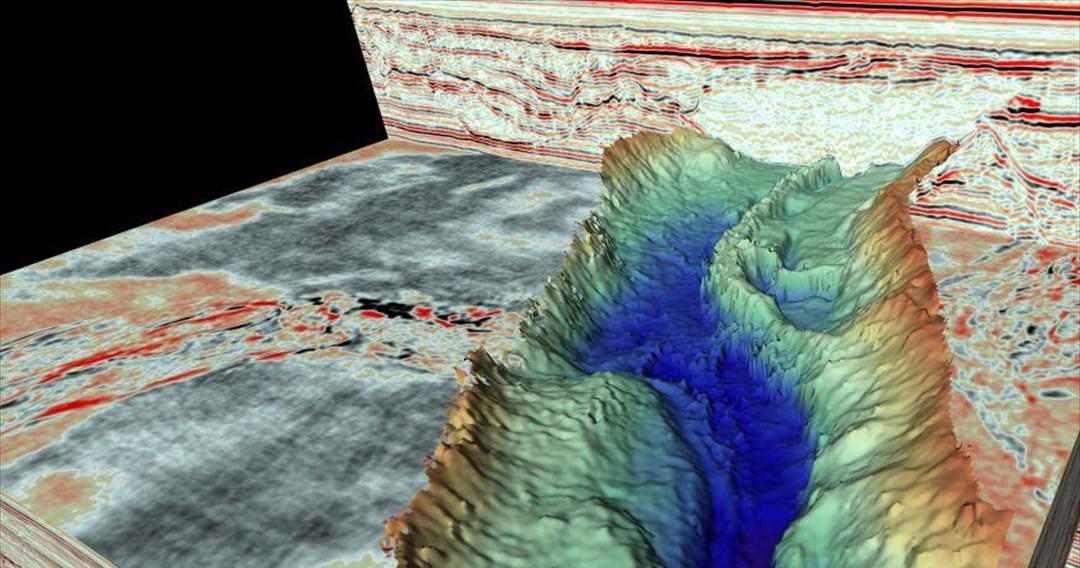 Μεγάλες κοιλάδες και φαράγγια εντοπίστηκαν κάτω από τη Βόρεια Θάλασσα