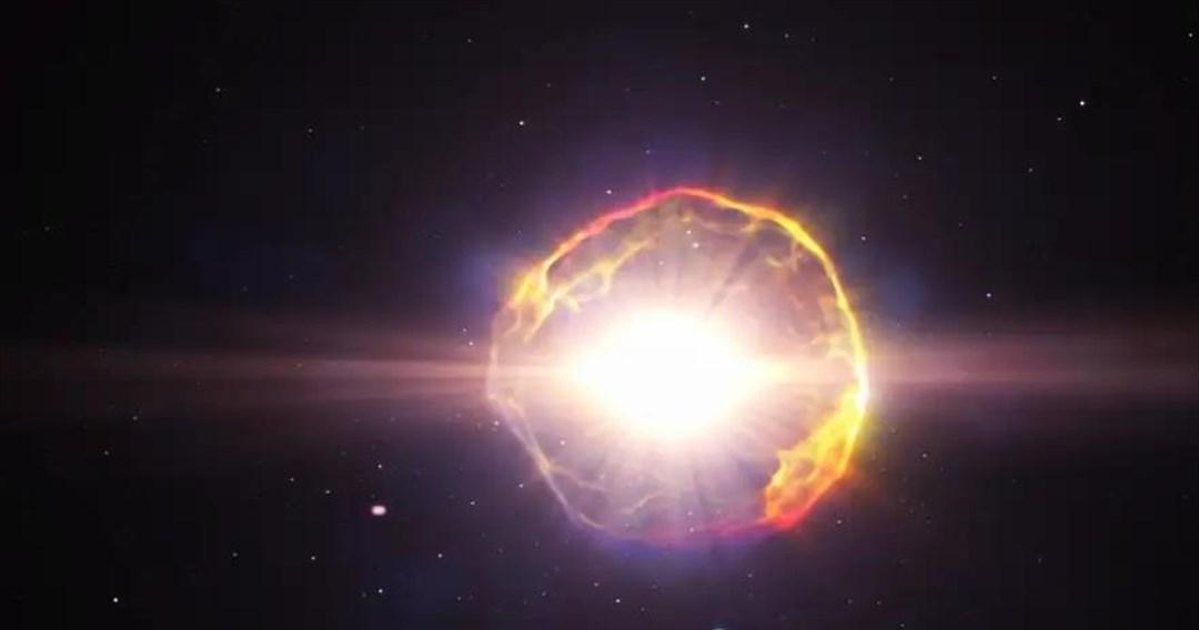 Το ρέκβιεμ ενός σουπερνόβα παρατηρούν οι αστρονόμοι